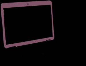 IT office insurance illustration of laptop