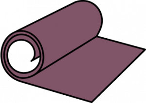 flooring contractor insurance illustration of rolled out carpet
