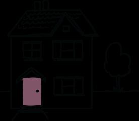 residential landlord insurance illustration of house