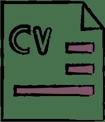 recruitment agents insurance illustration of CV
