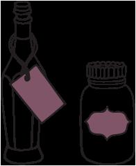 specialist food shop insurance illustration of glass jars