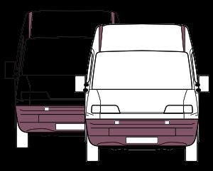 small business fleet insurance illustration of multiple vans