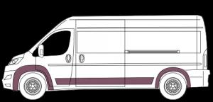 small business van insurance illustration of high top van