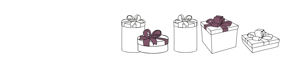insurance illustration of present boxes